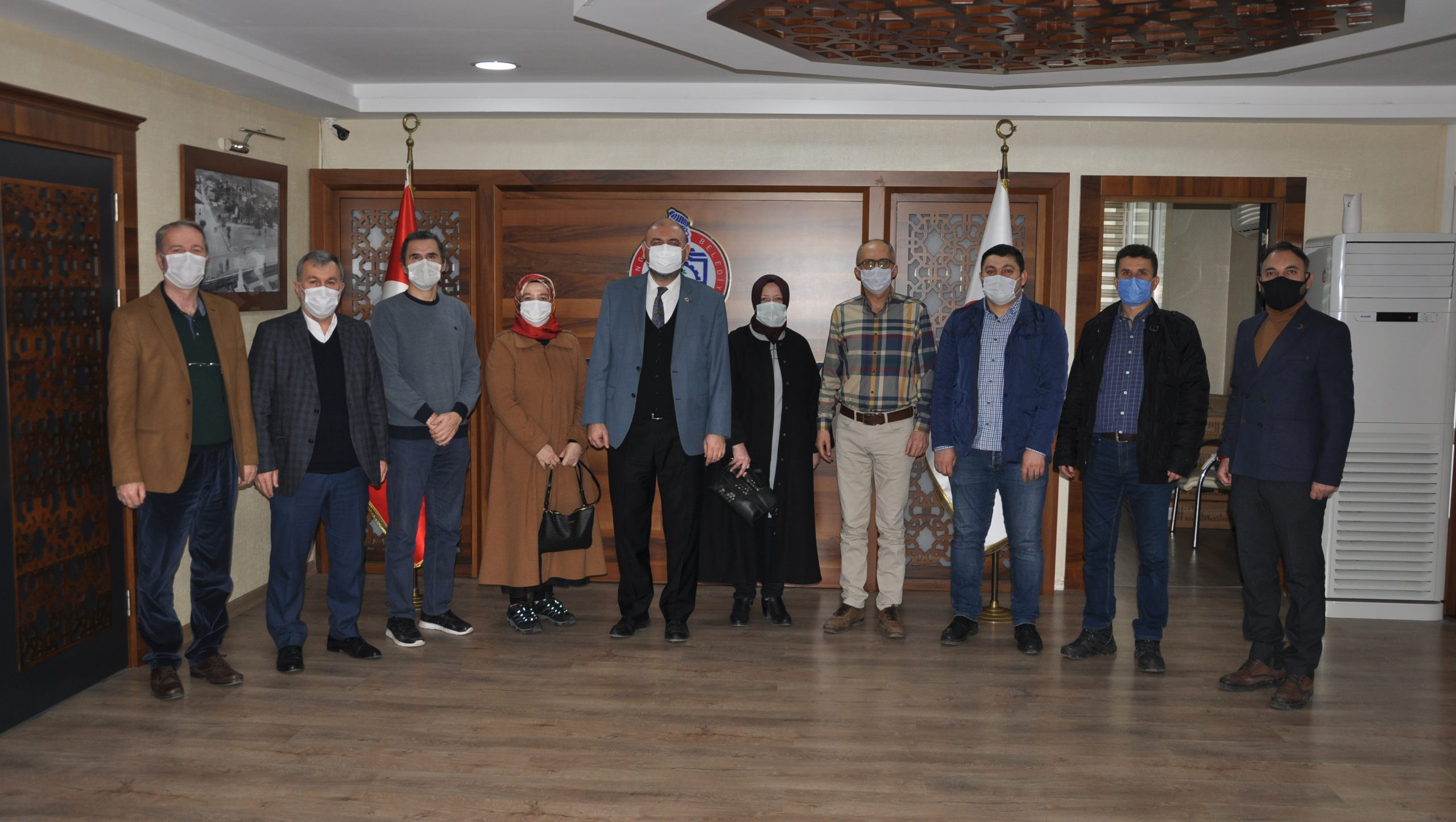 Kent Konseyi yürütme kurulundan Başkan Aydın'a ziyaret