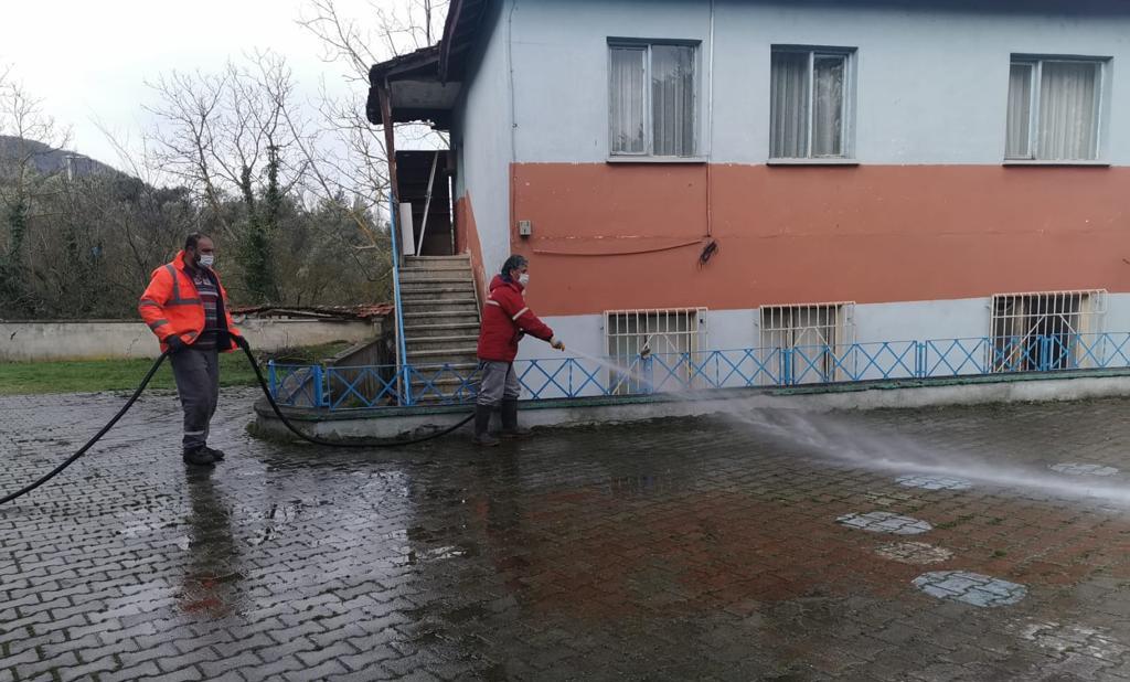Köy okullarında hazırlıklar başladı