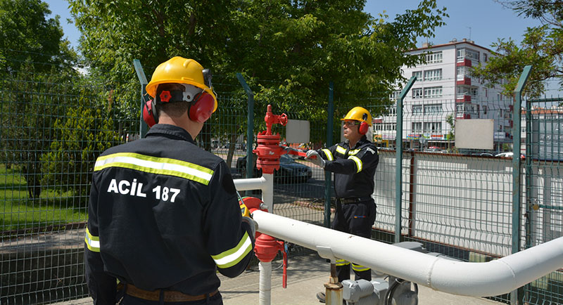 Bursagaz'dan, güvenli doğal gaz kullanımı