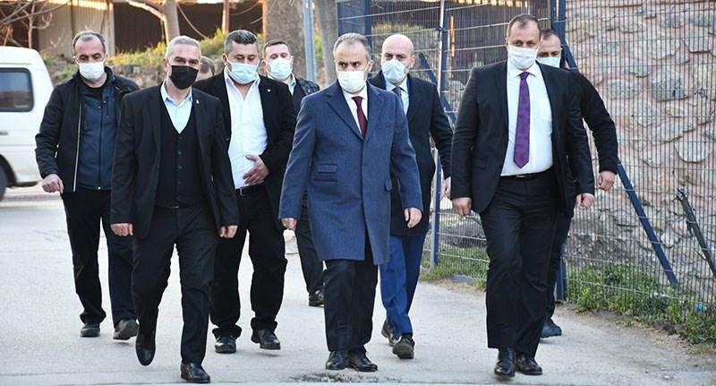 Büyükşehir Belediye Başkanı Alinur Aktaş İznik'te