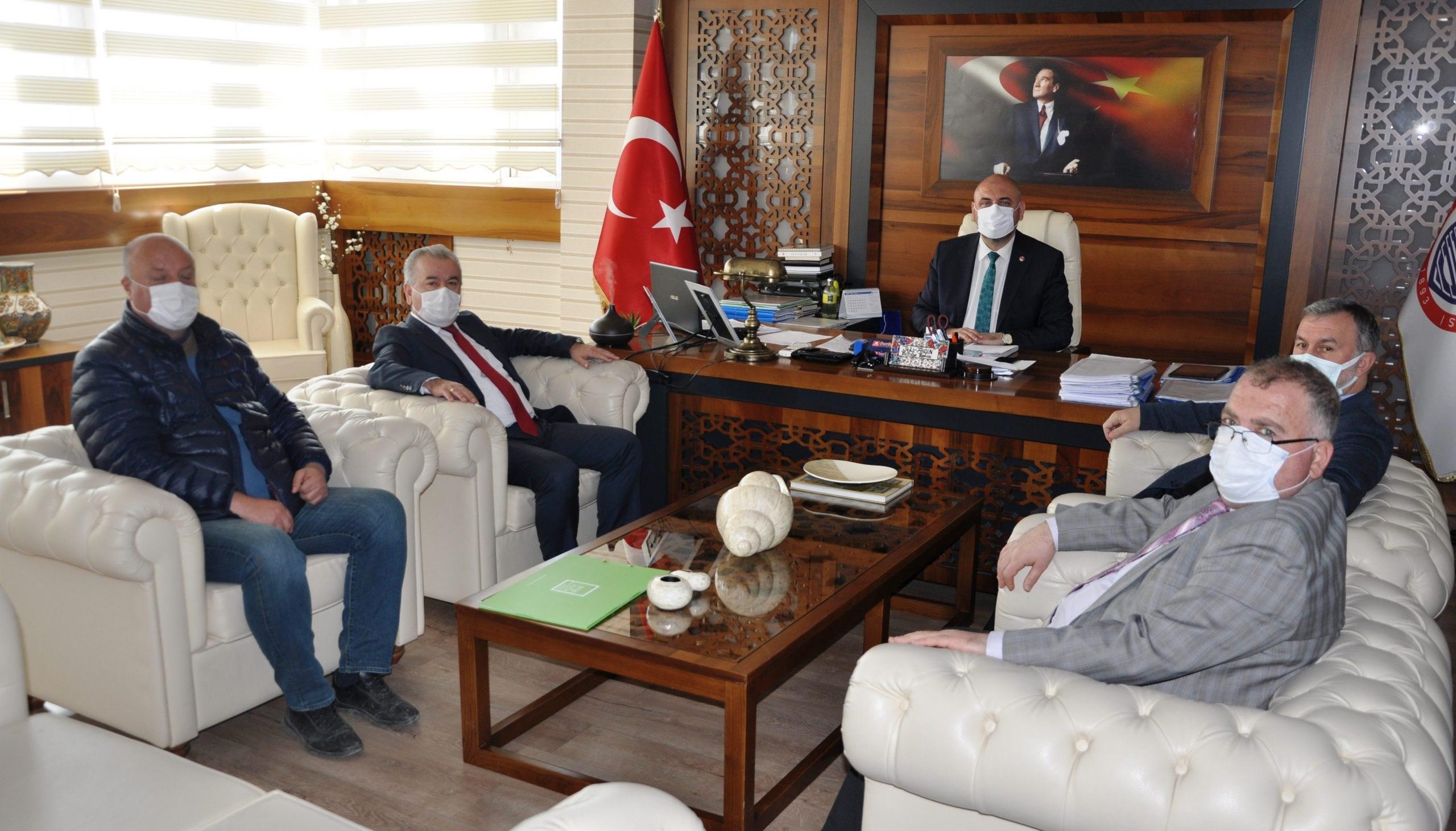 Sulama Birliği'nden Başkan Aydın'a ziyaret