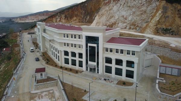 Yeni Adliye binasında çalışmalar tamamlanıyor