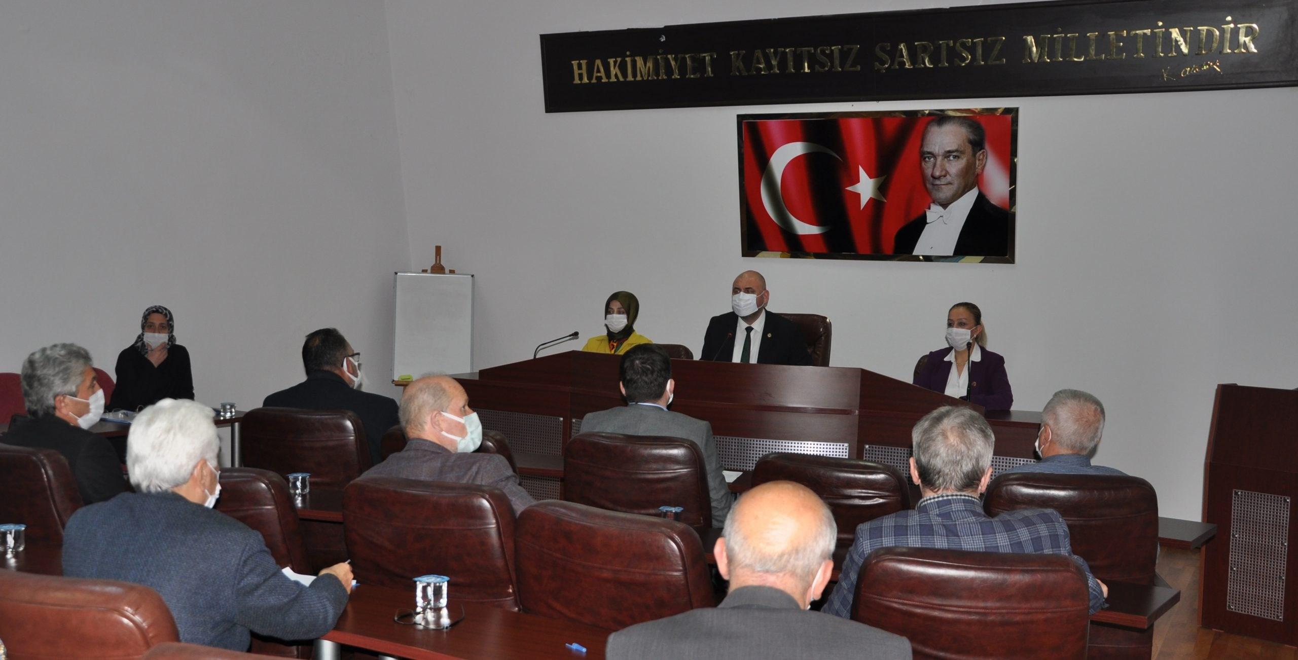 Nisan meclisi ikinci birleşimi yapıldı