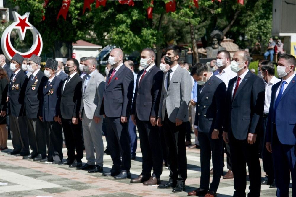 19 Mayıs Atatürk'ü Anma Gençlik ve Spor Bayramı törenle kutlandı