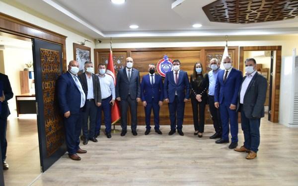 Bulgaristan heyeti başkan Aydın'ı ziyaret etti