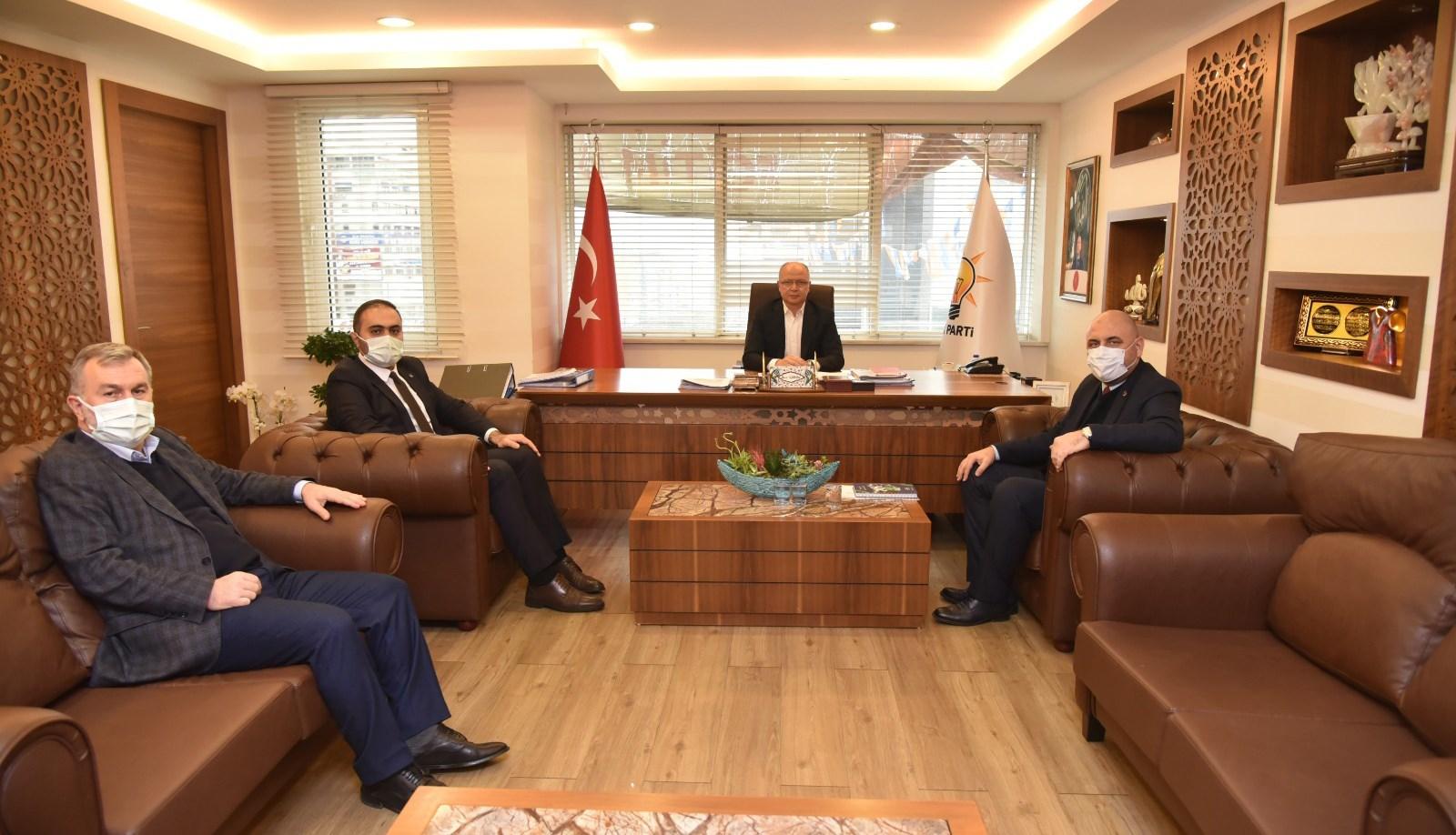 Başkan Aydın İl Başkanını ziyaret etti